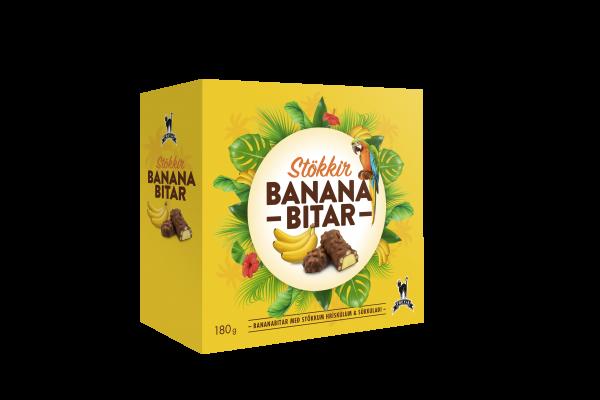 Stökkir Bananabitar